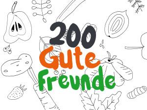 200 Gute Freunde auf Facebook