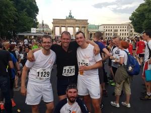 sportlich beim IKKBB Berliner Firmenlauf 2018